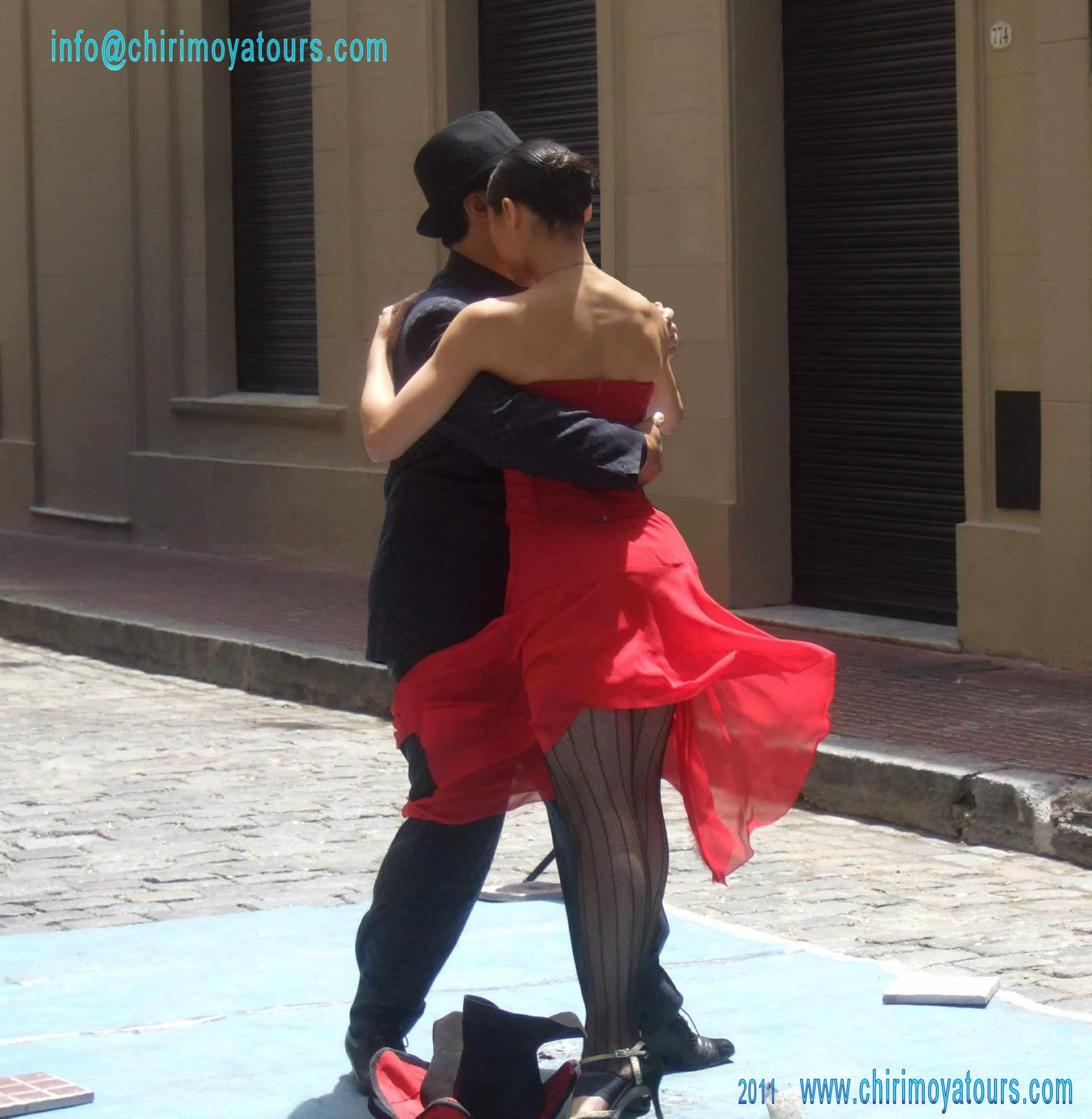 Tango Tänzer Buenos Aires