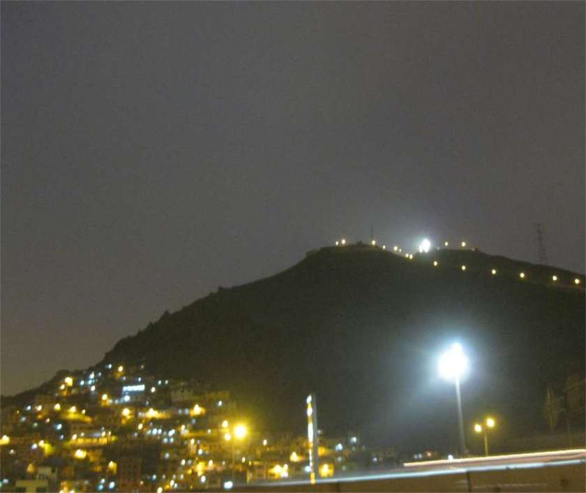 """Cerro San Christobal"""