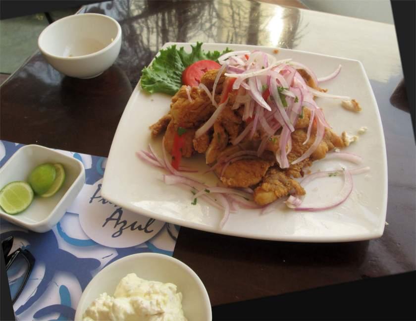 Gericht Essen aus Peru