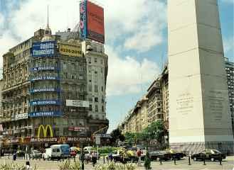 Obelisk Avenida Buenos Aires
