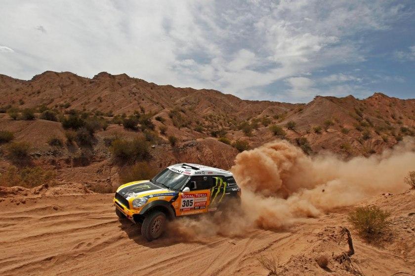 Rallye Dakar 2012 Bild Peru.