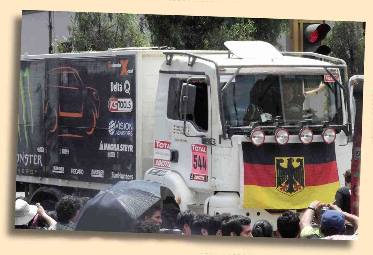 X-Raid Team Dakar Support LKW