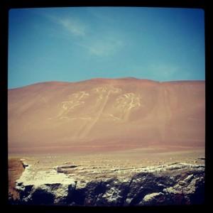 Paracas Reservat Geoglyphe Candelabro