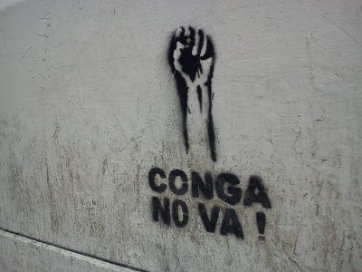 "Imagen ""Conga no va"""