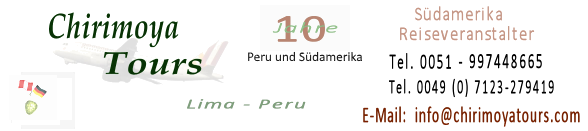 Chirimoya Tours Peru Reiseveranstalter Logo breit
