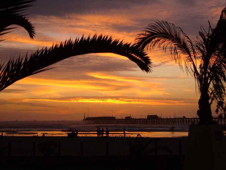 Strand Pimentel Pazifik Peru