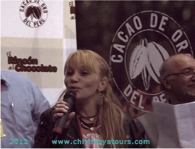 Hier Astrid Gutsche auf der Mistura 2012