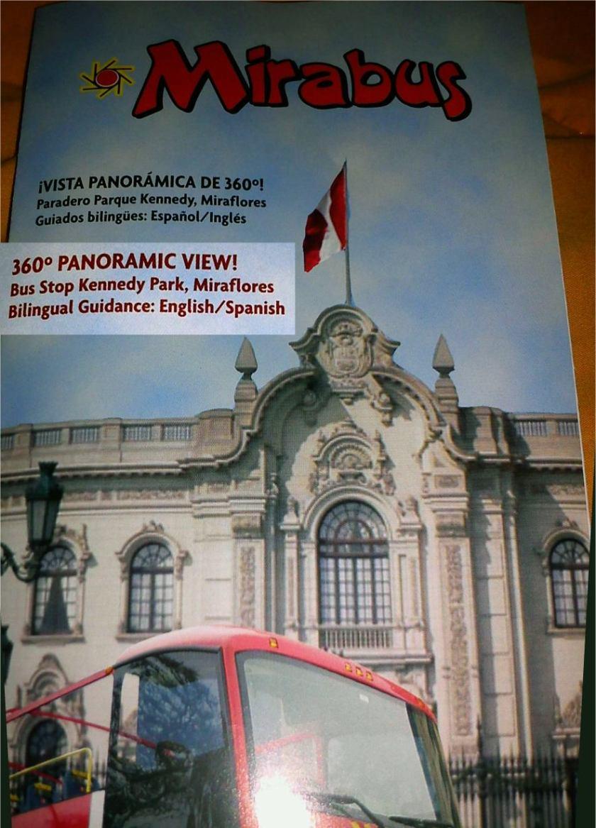 Mirabus Lima + Präsidentenpalast