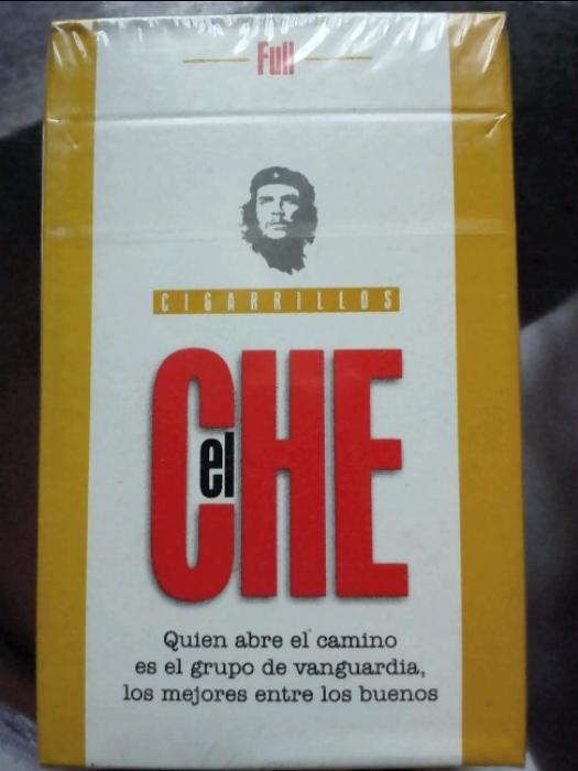 Cigarrillos Che, Zigaretten Peru
