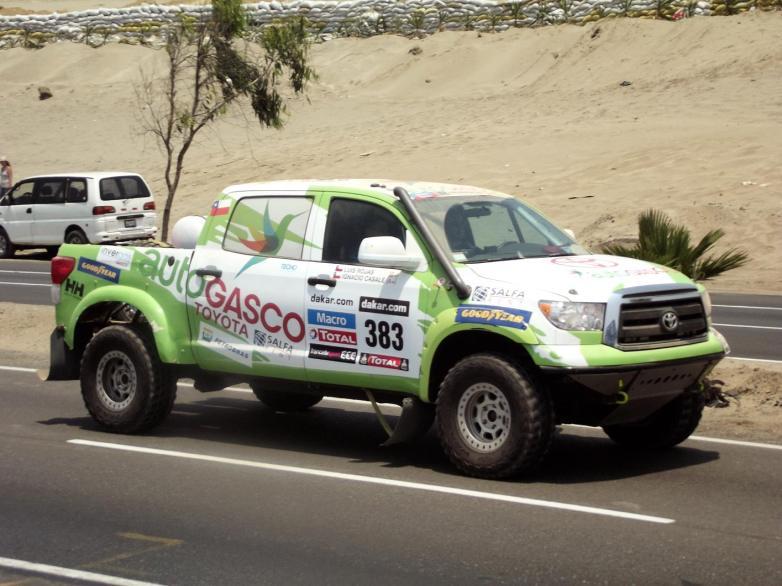 Auto Dakar 2013 Casale Ignacio Rojas Luis