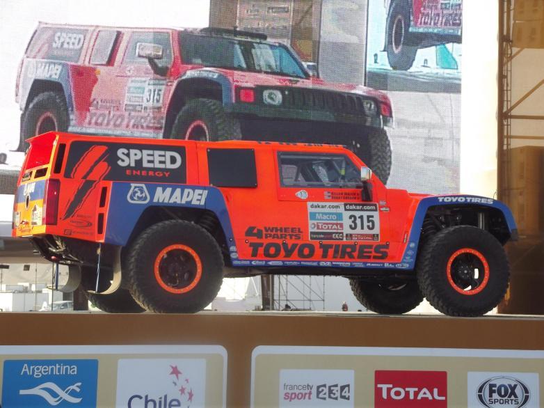 Robby Gordon Dakar Peru
