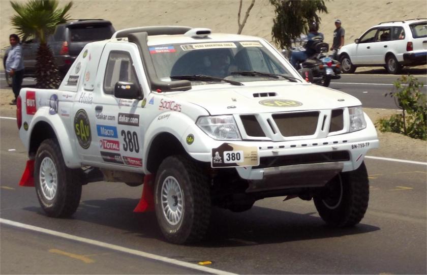 Dakar2013 Buggy von Jean Marc Verrier und Hervé Toscano