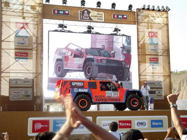 2013 Dakar Village Gordon Robby
