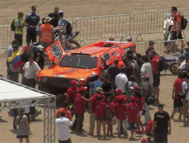 Robby Gordon Hummer H3 Dakar