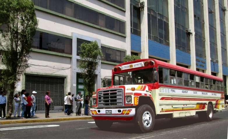 Bus in Lima - Peru