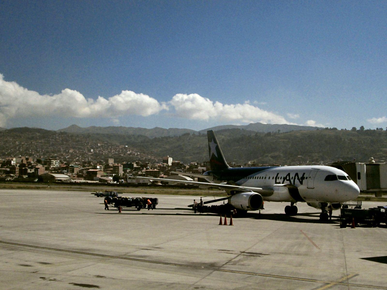 Cusco Flughafen.