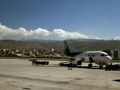 Flughafen-Cusco