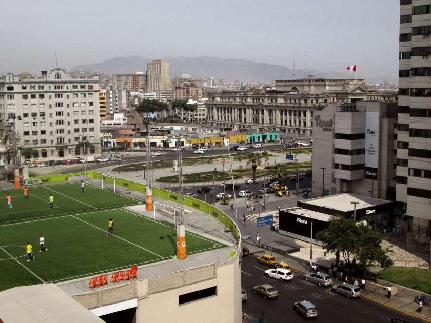 Zentrum von Lima, Centro Civico, Justizpalast....