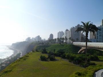 Park Grünfläche Lima