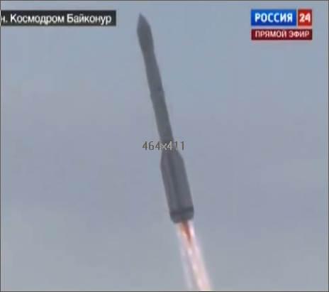 Proton Rakete noch intakt.
