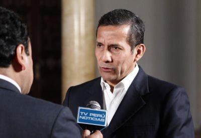 Präsident von Peru: Ollanta Humala