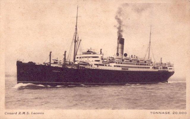 Bild der Laconia Passagierschiffes