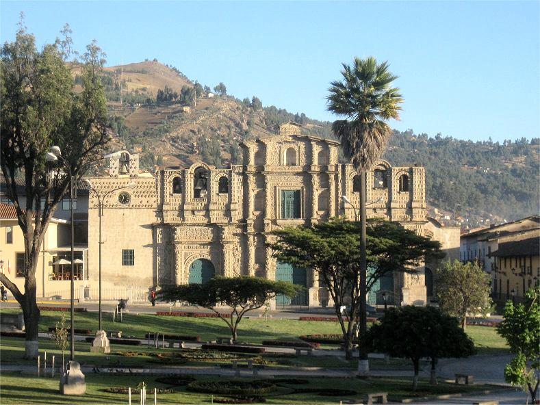 Foto der Woche - Plaza de Armas Cajamarca