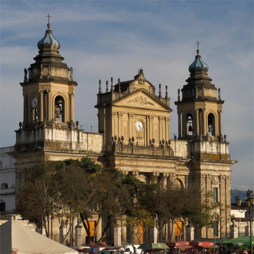 Guatemala Stadt Kathedrale