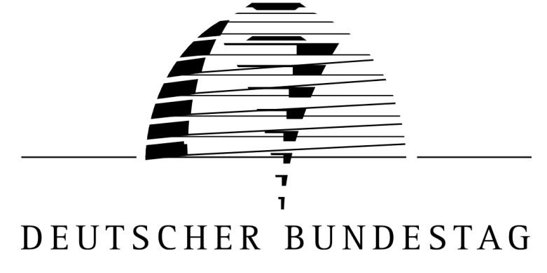 Das Logo des deutschen Bundestages.