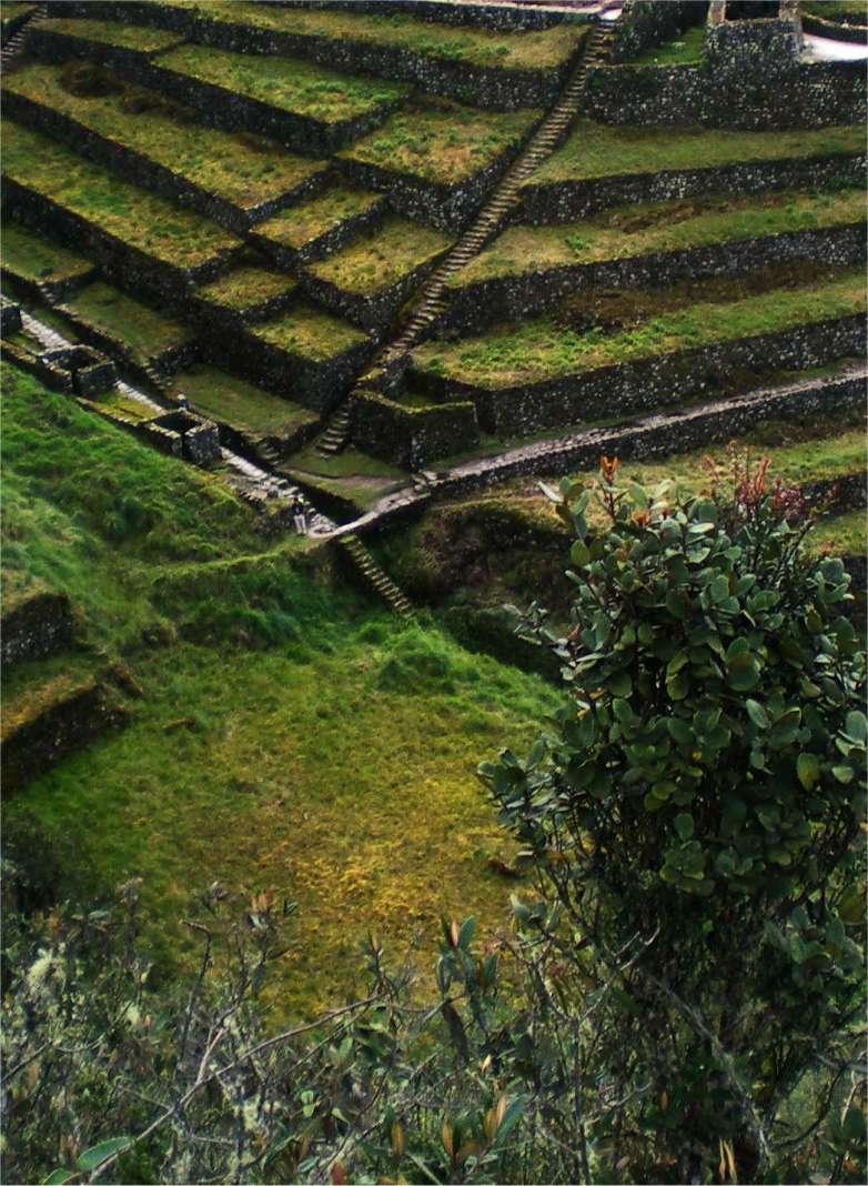 Inka Trail Ruine