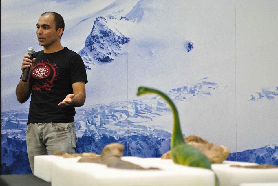 Expedición paleontológica. Luisa Villablanca