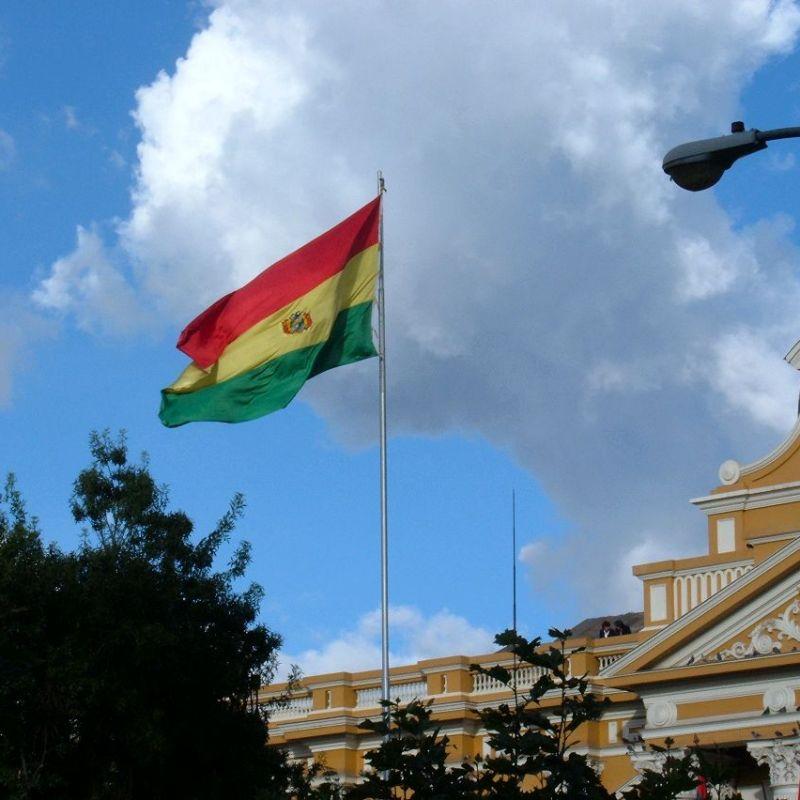 La Paz Präsidentenpalast.