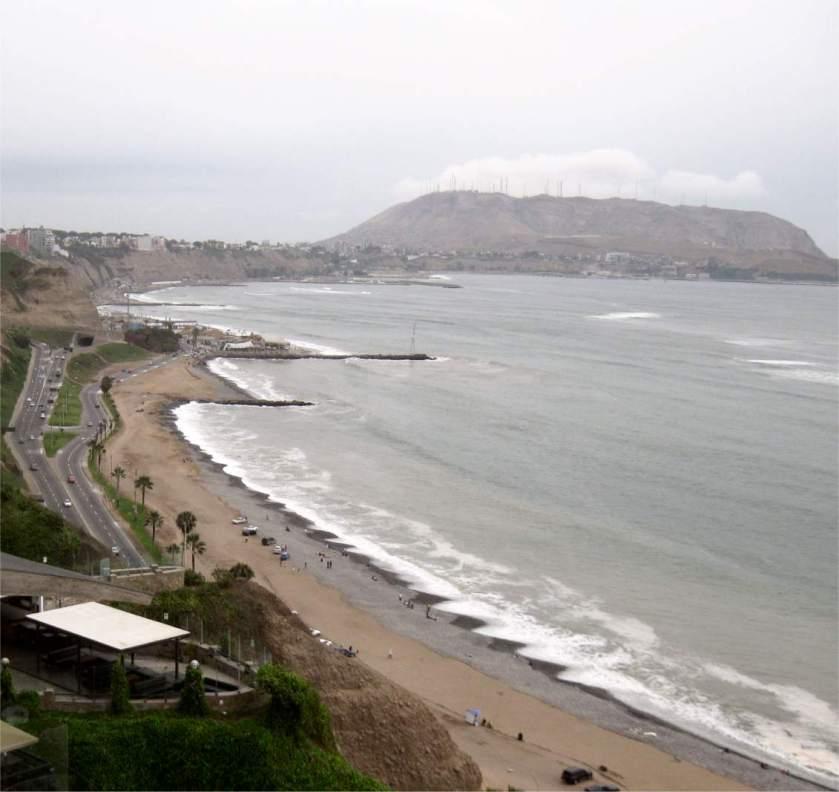 Miraflores-Kueste-Chirillos-Lima-Küste