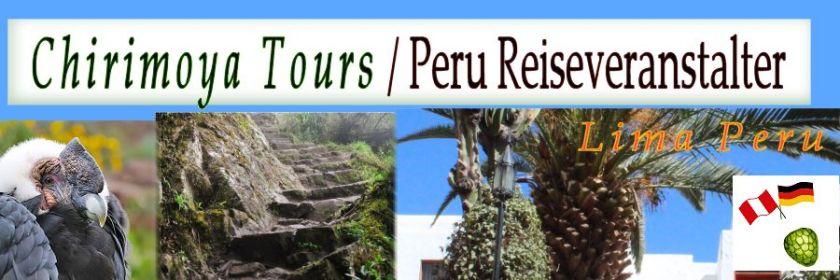 Peru Reiseveranstalter Chirimoya Tours Header