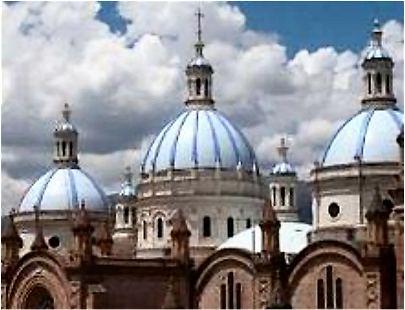 Ecuador: Cuenca neue Kathedrale.