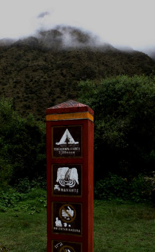 Inka Trail zum Machu Picchu.
