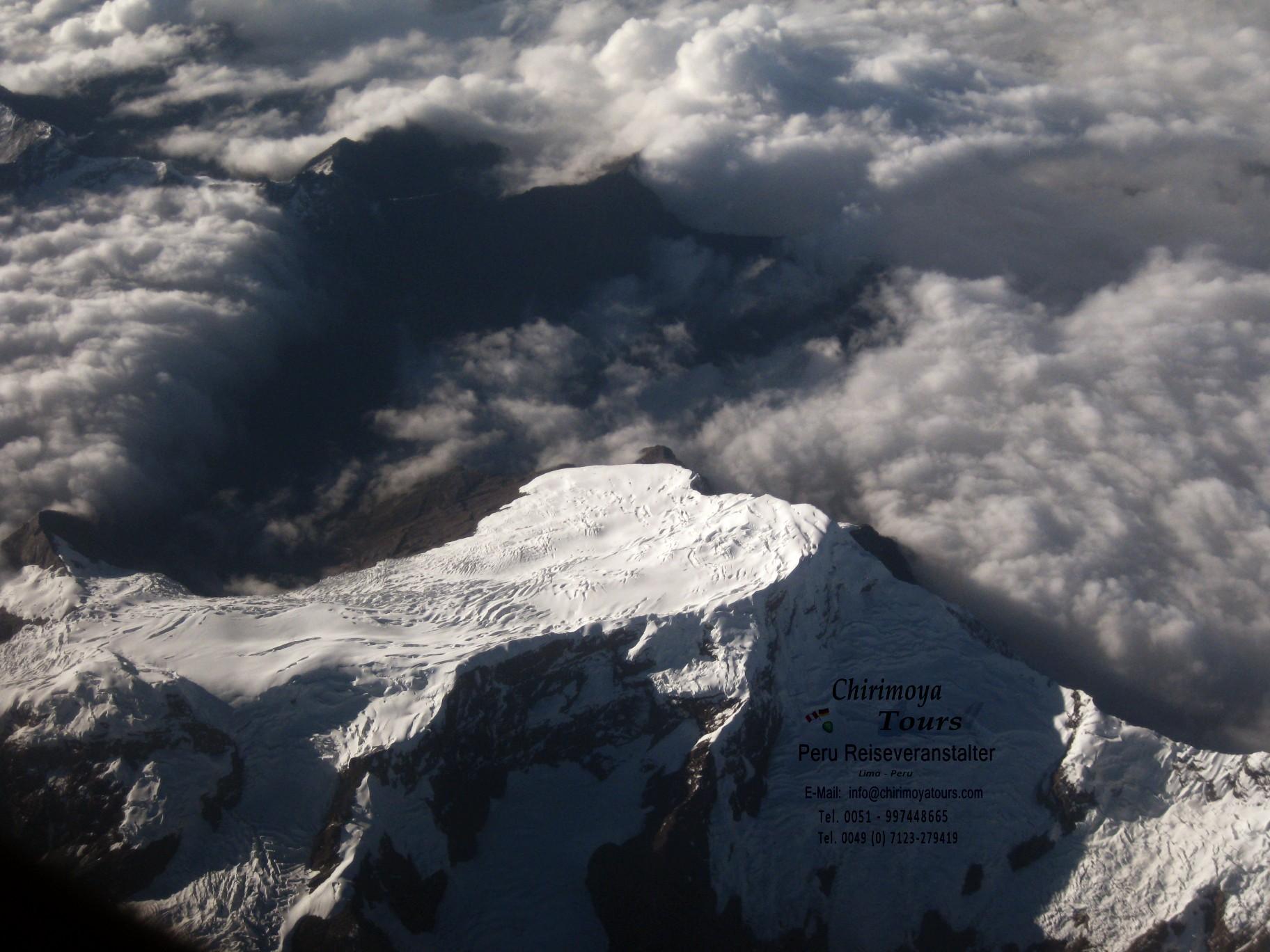 Weisse Kordilleren (Cordillera Blanca)