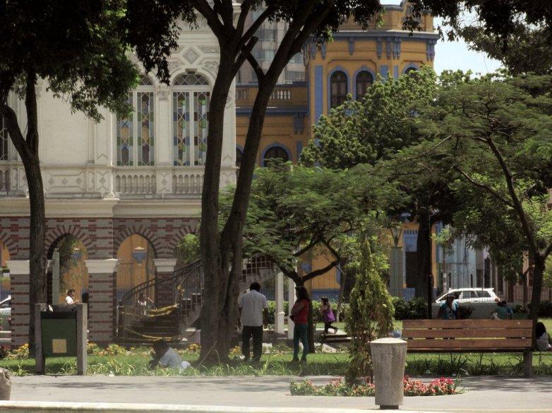 Parque de la exposition Lima