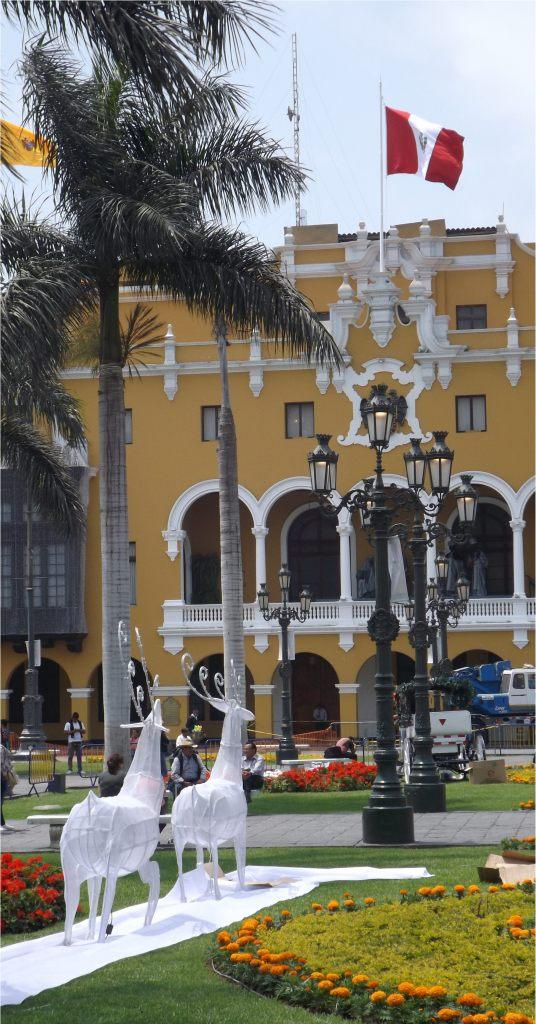 Peru: Lima Plaza de Armas