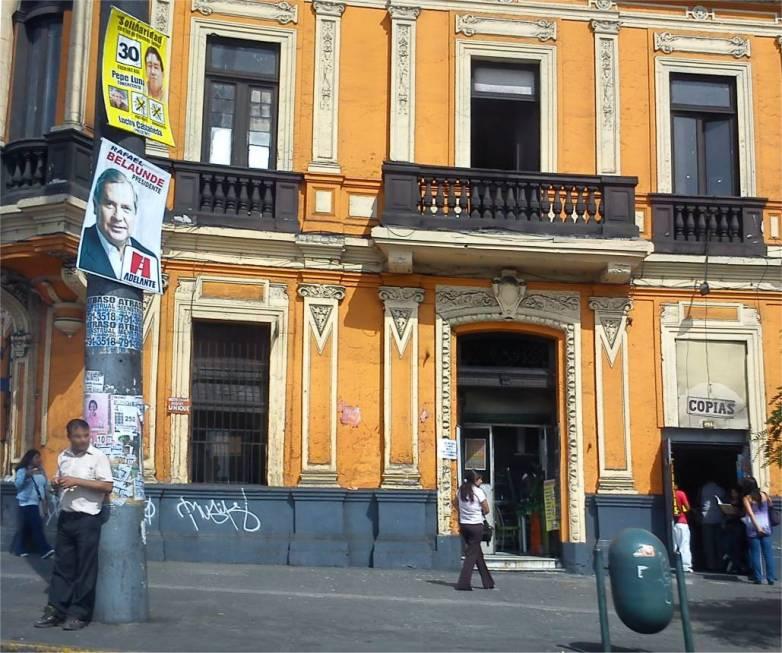 Plaza Bolognesi - Lima