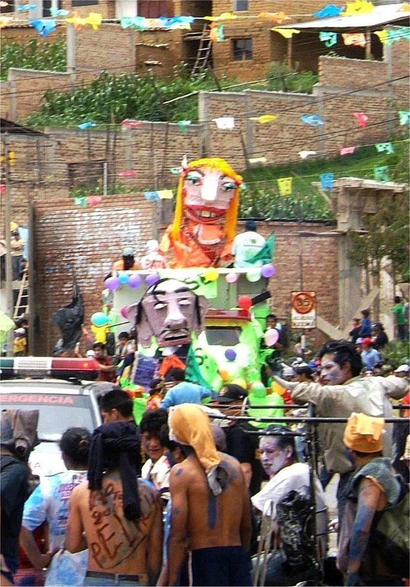 Cajamarca-Peru-Karneval