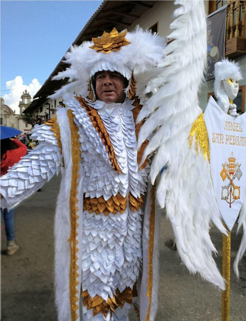 Engel von San Pedro - Karneval Peru - Cajamarca