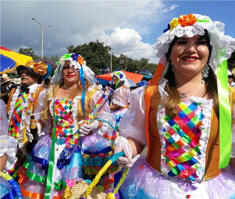 Karnevalskostüme in Cajamarca