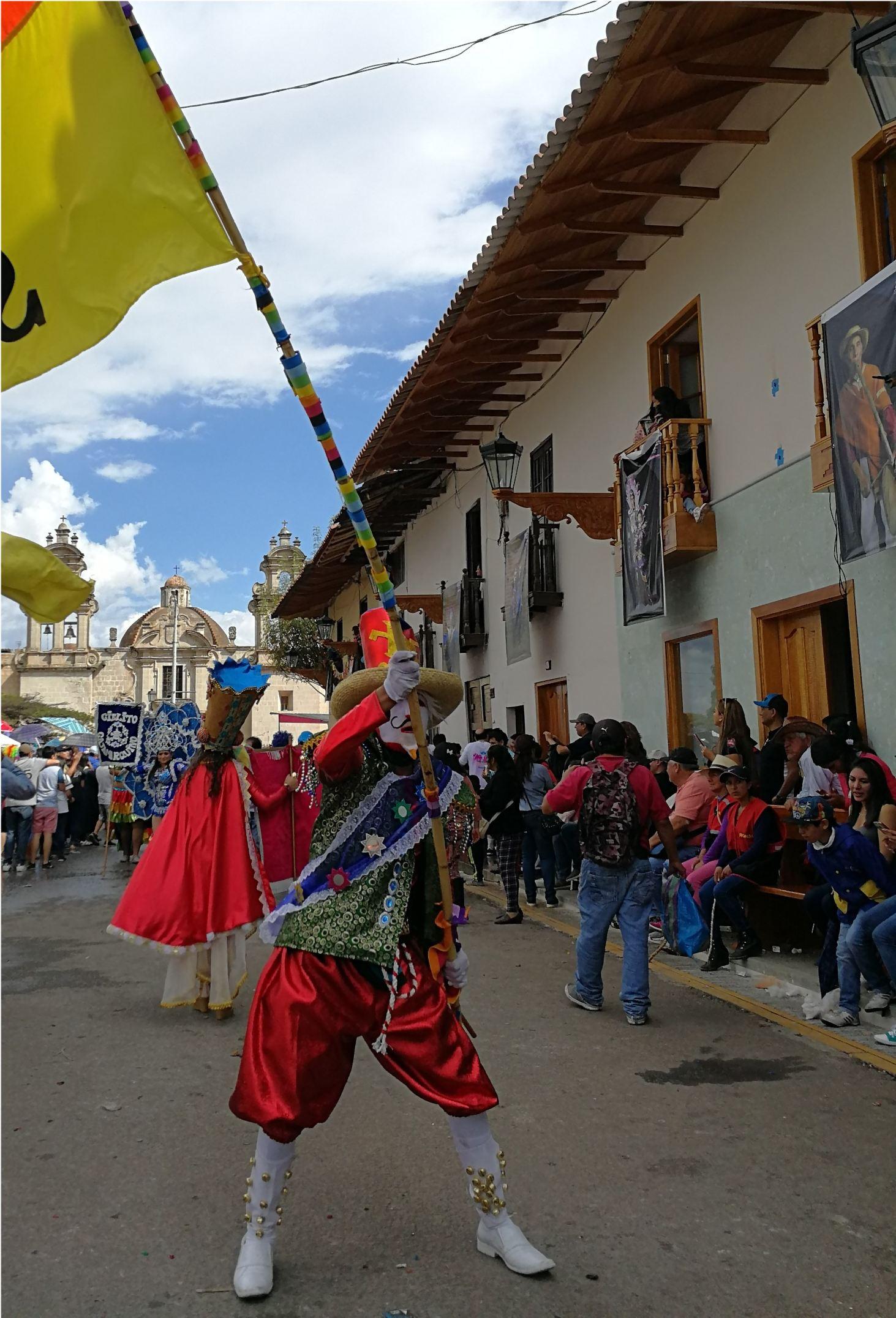 Karneval Cajamarca Peru