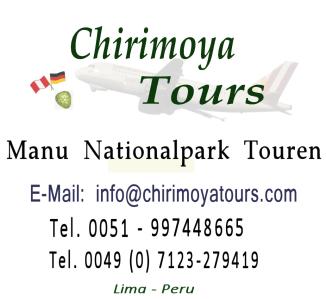 Logo Manu Nationalpark Touren