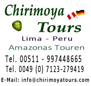 Amazonas Touren - Chirimoya Tours Peru