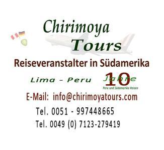 Chirimoya Tours Reiseveranstalter Logo.