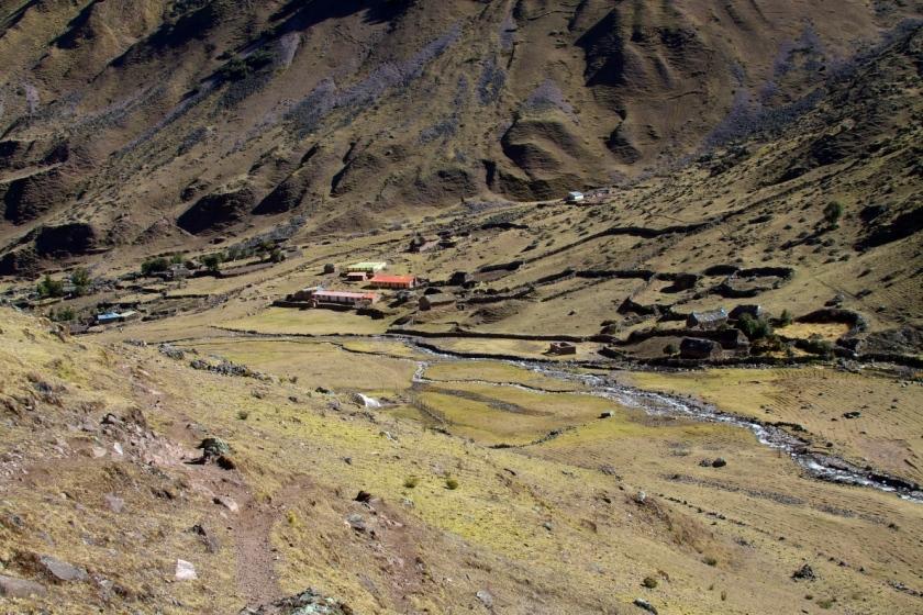 Cancha Cancha auf Lares Trail
