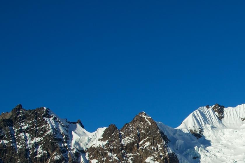 Lares Trail Gipfel