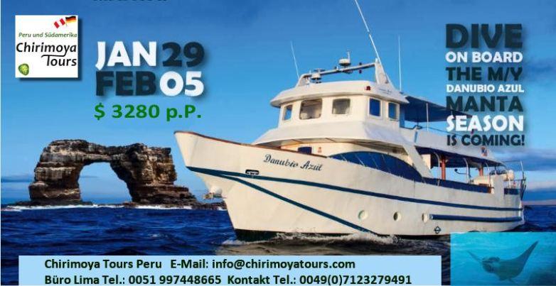 Danubio Azul Motor Yacht - Galpagos